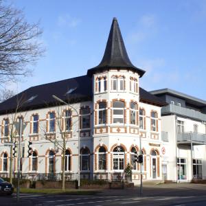 Das alte Clubhaus an der Donnerschweer Straße.