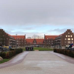 Wohnquartier Neu-Donnerschwee. Blick auf den Schumacherhof.