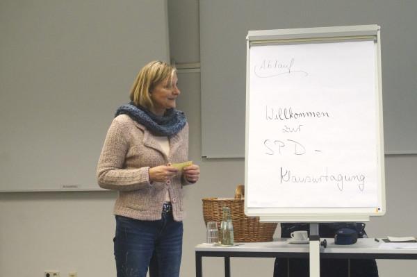 Begrüßung OV-Klausur Claudia Ellberg