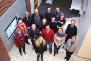 OV-Klausur 2019 - Gruppenbild von oben